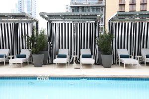 Pool Cabanas