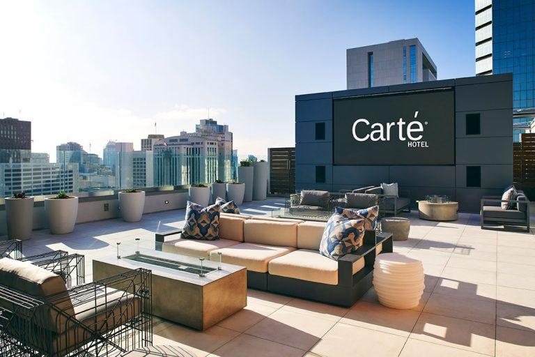 Carte Hotel Rooftop